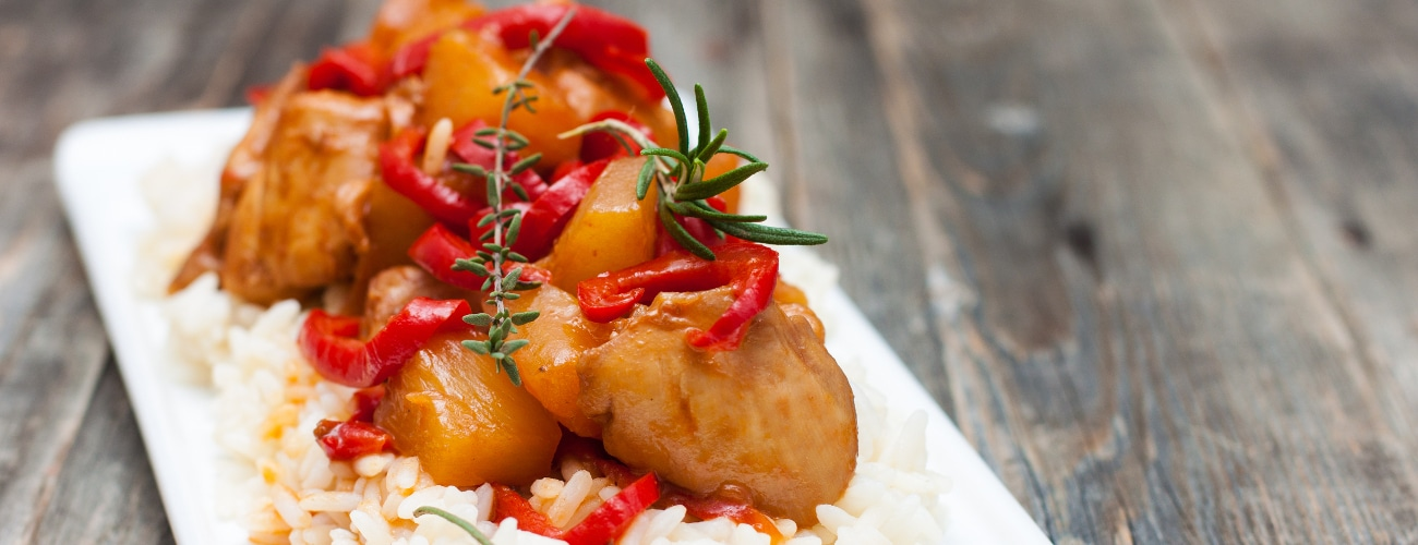 CHICKEN BREAST FILLET WITH FRUIT CHUTNEY