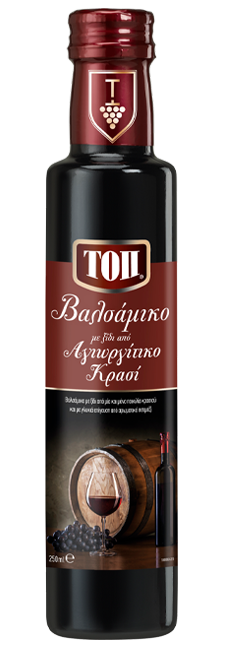 TOP BALSAMIC WITH VINEGAR FROM AGIORGITIKO WINE
