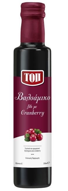 TOP BALSAMIC VINEGAR WITH CRANBERRIES
